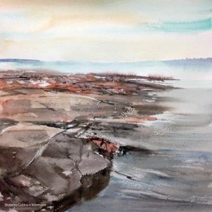Watercolor: Seascape