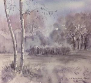 Watercolor: Spring