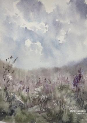 Watercolor: Field