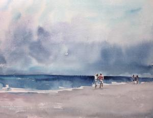 Watercolor: Coast