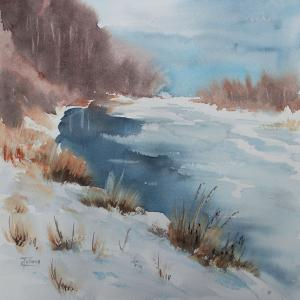 Watercolor: Winter