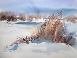 Watercolor: February