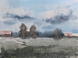 Watercolor: Country