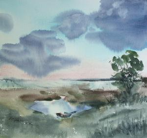 Watercolor: Landscape