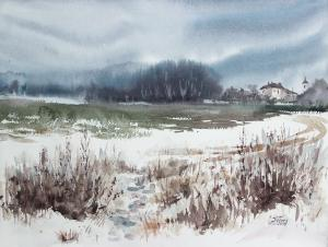 Watercolor: Warm Winter