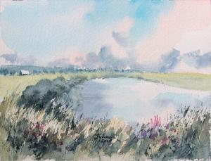 Watercolor: The Lake